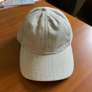 Madewell Striped Baseball Cap